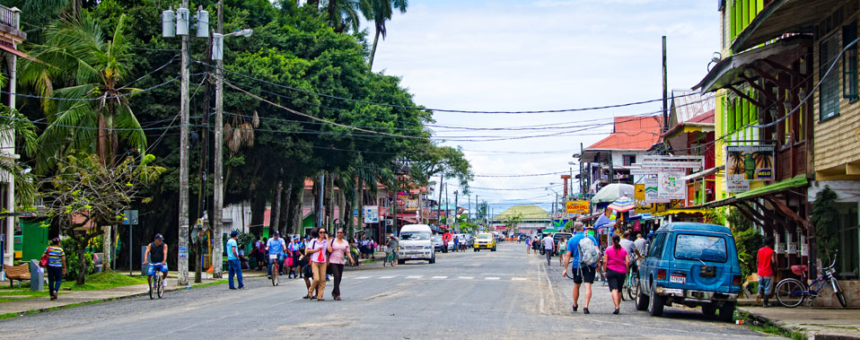 Only a few minutes from the center of Bocas Town